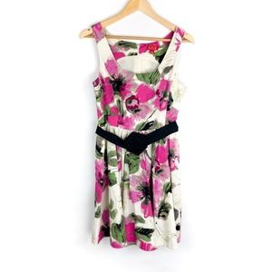 Elle Dress Size 10 Womens Floral Sleeveless Summer